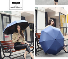 best selling new on taobao high quality summer traveling foldable automatic sun and rain umbrella