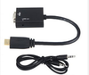 SIPU High Speed 1080P HDMI to VGA Cable with Audio