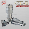 KZE-B Thread Locked Water Hydraulic Quick Coupling for protable Jacks