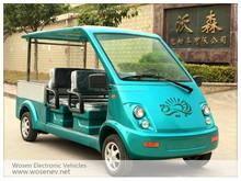 eléctrico vehículo utilitario y vehículo transporte y mini camioneta cargamento con caja cargamento aluminio a la venta WS-HY4
