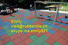 anti-slip Outdoor rubber tile/Recycle Outdoor rubber tile/Square Outdoor rubber tile