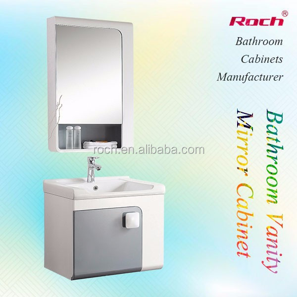 roch 8034 cheap cabinet designer modern single basin bathroom vanity buy single basin bathroom