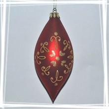 Chinese festive supplier novel design christmas glass ball popular christmas decorations Chiristmas ornaments