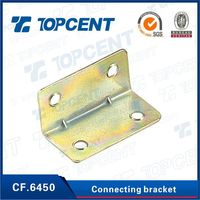 high security connecting right angle metal connecting brackets