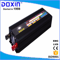 12v 24v 36v 48v 60v 110v 120v 220v 230v 240v dc to ac power inverter 2000w with battery charger