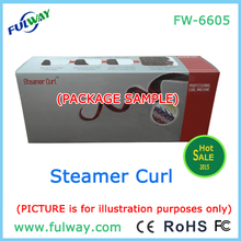 Promotional Steamer Hair Curl Machine high-tech V8 Engine Auto Steam Hair Curler