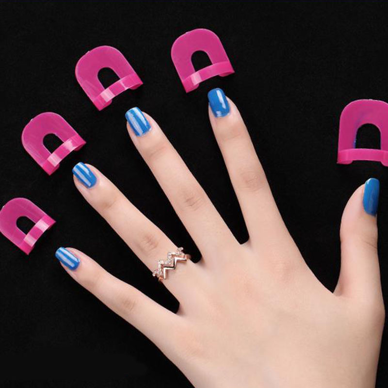 Skin Protector Anti Overflow Nail Stickers Professional Nail Art ...