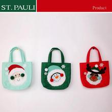 8inch Promotional gift item christmas handbag
