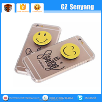 2016 Mobile Phone Accessoires for iphone 6S TPU Soft Case with Smile Bracket