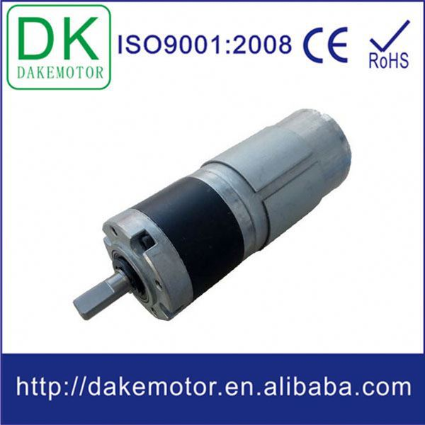 Diameter 36mm dc planetary motor small electric motor for Small electric motor brushes