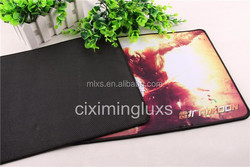Microfiber Mouse Mat with Non Slip Dots on Back