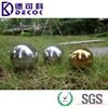 Large Round Stainless Steel Hollow Metal Ball for Garden Decoration