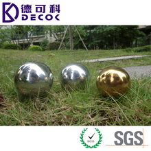 Large Stainless Steel Hollow Metal Ball for Decoration