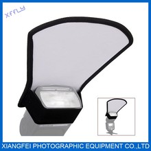 """24 """" (60cm) collapsible disc Silver/White 2-in-1 reflector,Flash reflectors"""