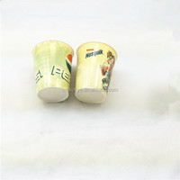 2015 Factory custom cold color change plastic cup with straw/plastic cup change color /hot and cold plastic cup with logo printe