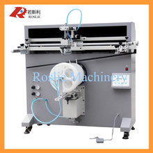 Silk screen printing machine manual for chemical paint bucket