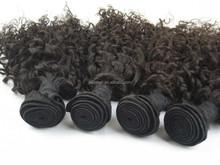 Full Cuticle Virgin Hair in StocK virgin peruvian jerry curl hair weave