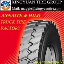 Xingyuan tire group ANNAITE HILO truck tire suitable for mining 12.00R20 399