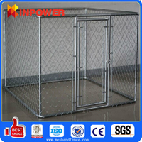 Galvanized or Plastic Chain Link Pet Dog Wire Fence