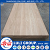 4'*8'LULIGROUP AA grade rubber wood chile pine finger jointed laminate board for decoration