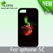 coloful Sublimation hard PC cover case for Iphone 5C from LOPO