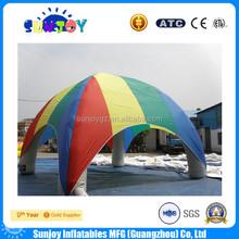 Colorido barraca inflável tenda bolha inflável para a venda