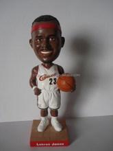 NBA player, Customized Bobble Head , Polyresin Bobblehead