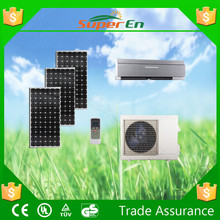 24v 1 ton room evaporative hybrid solar air conditioners, multi split air conditioner for saving electricity cost price