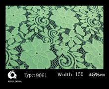 2015 new arrival flowers wedding embroidery lace fabric latest designs lace allover