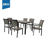 Best quality Polywood balcony dining chair and table set