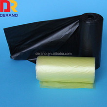 HDPE t-shirt plastic bag on roll trash bag holder