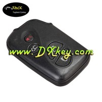 High quality 3+1 button smart key shell With emergency key for key lexus lexus smart keyless