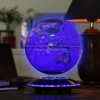 Popular UFO base magnetic levitation globe unique football gift