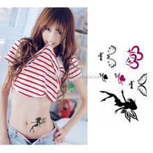 High Quality Temporary Sticker Body Art Tattoo Stencil