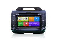 auto stereo audio dvd gps navigation for Kia Sportage, car multimedia with 3G/wifi internet