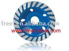 Diamond roda copa roda, lixamento e polimento de mármore