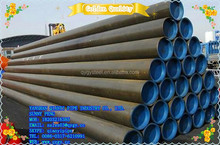 DIN ST35-ST52 Hot rolling/rolled BE/PE 4 inch Black painting coated seamless carbon steel pipe/tube for Fluid price