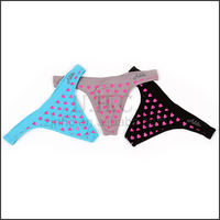 Newest Arrival Hot Design Cheap Sexy Women Panty Thong Underwear