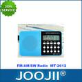 Fm duradera/soy/sw mini portátil de radio digital de bolsillo