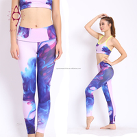 Hot selling women fitness wear legging pants yoga tights