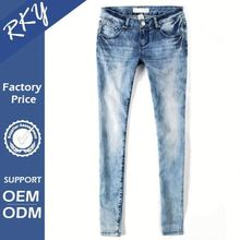 Grab Your Own Design Custom Fitted Windproof New Model Jeans For Lady