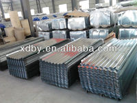 ASTM hot dip corrugated aluminum roofing