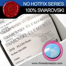 High Quality Swarovski Elements Air Blue Opal (285) 20ss Flat Back Crystal Rhinestone