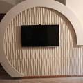 fibra vegetal puro material papel de parede barato/3d ver wallpaper