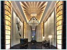 Innovative Artificial Alabaster Stone Modern Ceiling design