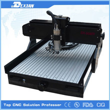 Desktop mini cnc pcb router, metal cnc router 4060 with 1.5kw spindle
