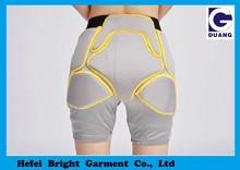 De gama alta de deporte de invierno almohadillas para la cadera, silicona la nalga y la cadera