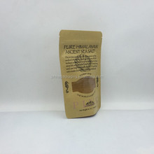 25kg Brown paper Food packing Paper snack Bags with Plastic Liner