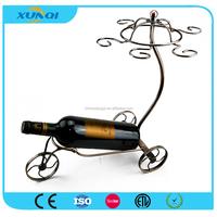 Car Shape Wine Bottle Holder/Wrought Iron Wine Rack XQ1315