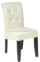 European style modern popular best price comfortable solid wood chair simple white chair dining room or hotel restaurant chair